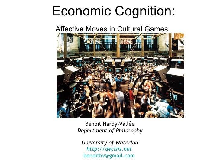Economic cognition