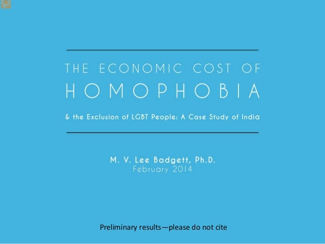 The economic cost of homophobia