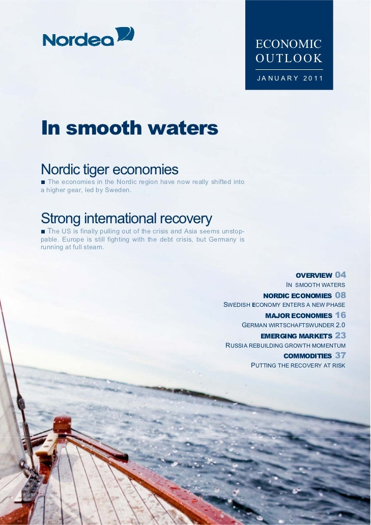 Economic Outlook, January 2011, Nordea Bank