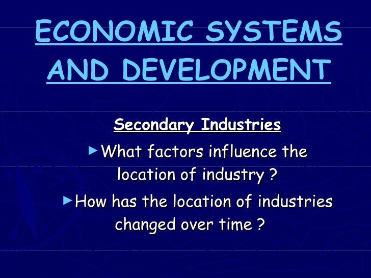 Economic  Secondary Industries Wales And Multinationals