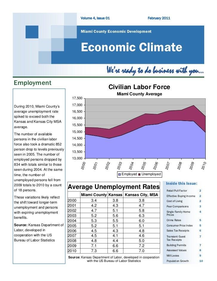 Economic Climate Report February 2011
