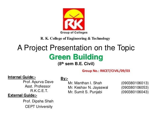 Topic Green Building 8th