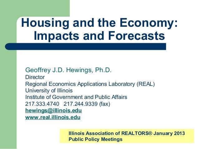 Economic Forecast 2013