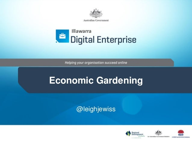 Economic garden   slideshare version