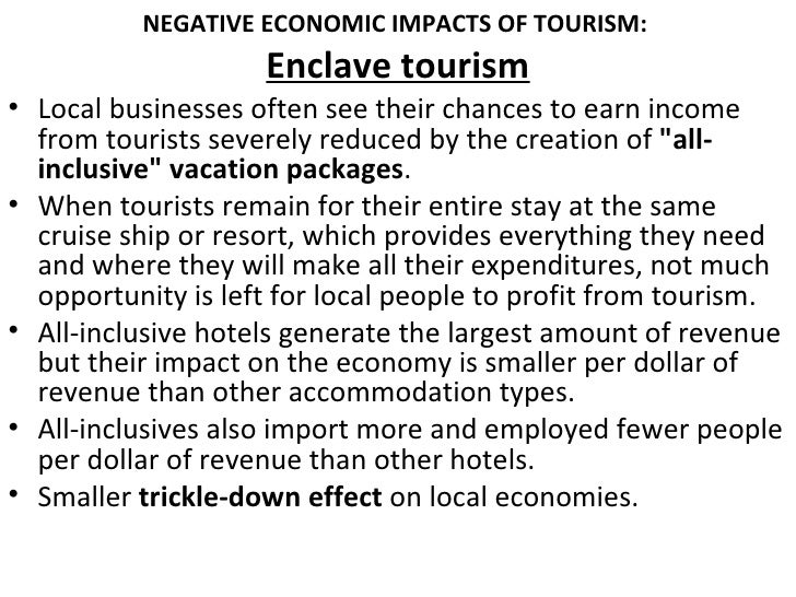 global tourism negative impacts of tourism The online version of global tourism by william f theobald on the positive and negative impacts of tourism, pages 79 tourism, mobility, and global.