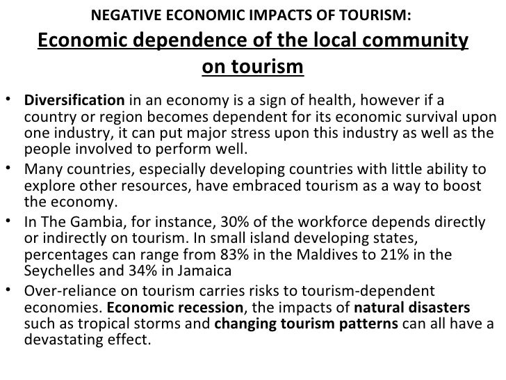 Economic Effects Of Tourism Economics Essay