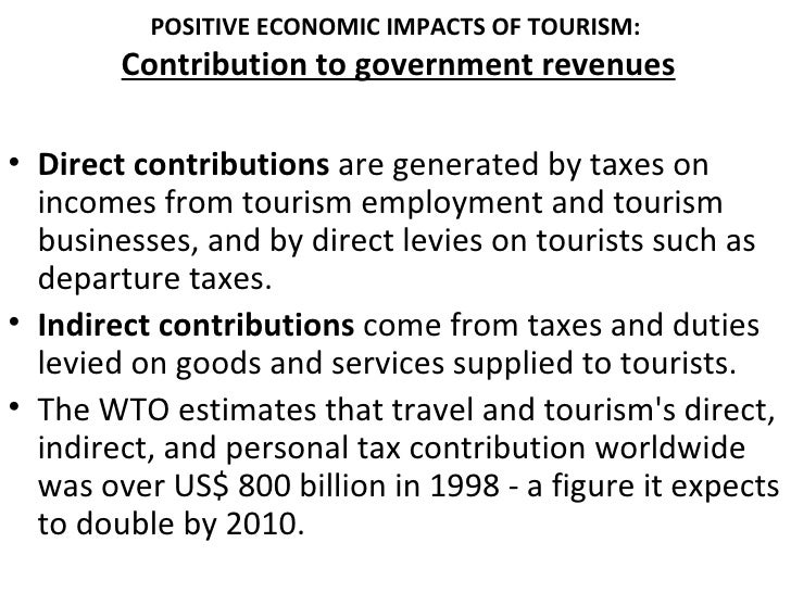 tourism s significant impact on the economic Tourism and new york city's economy a discussion of the economic impact of the tourism how important is tourism.