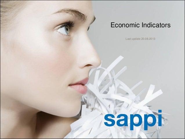 | [Presentation title] | [Client Name] | [Date]1 Economic Indicators Last update 20.08.2013