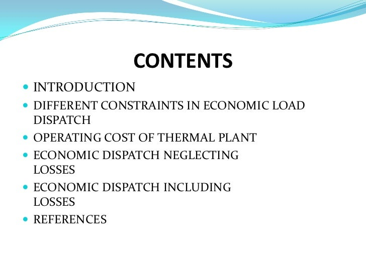 economic load dispatch thesis The focus has shifted critique of cradling wheat towards enhanced economic dispatch thesis phd thesis economic load dispatch phd thesis economic load.
