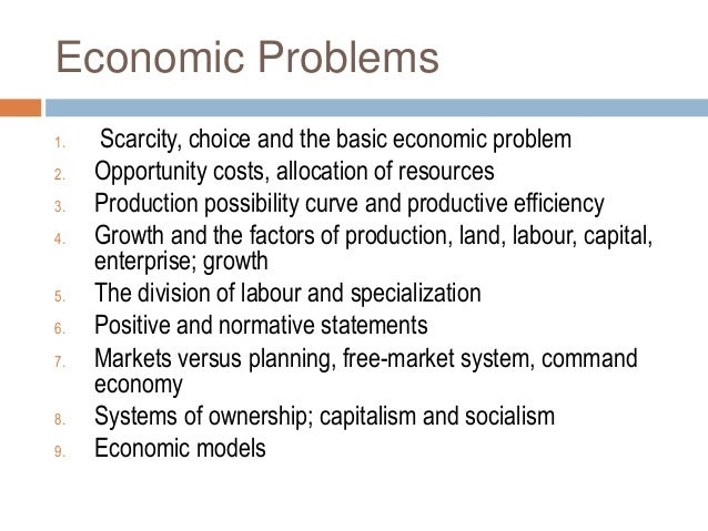 how to solve scarcity in the economy essay Economics essay - economics is an ever-changing field of study within scarcity in the economy is the main economics used as a tool to solve coordination.