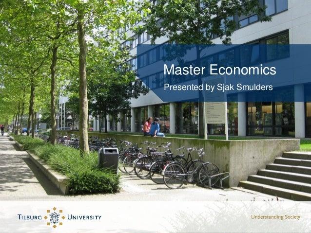 Master Economics