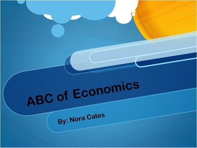 3rd Grade ABC's of Economics