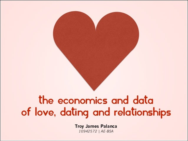 the economics of dating and mating