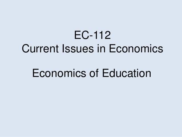 Economics of education 04.11.11(3)