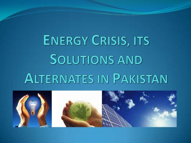 essay on energy crisis in pakistan 2012