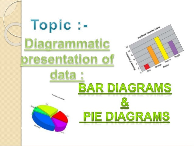 diagrammatic presentation of data bar diagram  amp  pie diagramarithmetic line graph or time series graphs