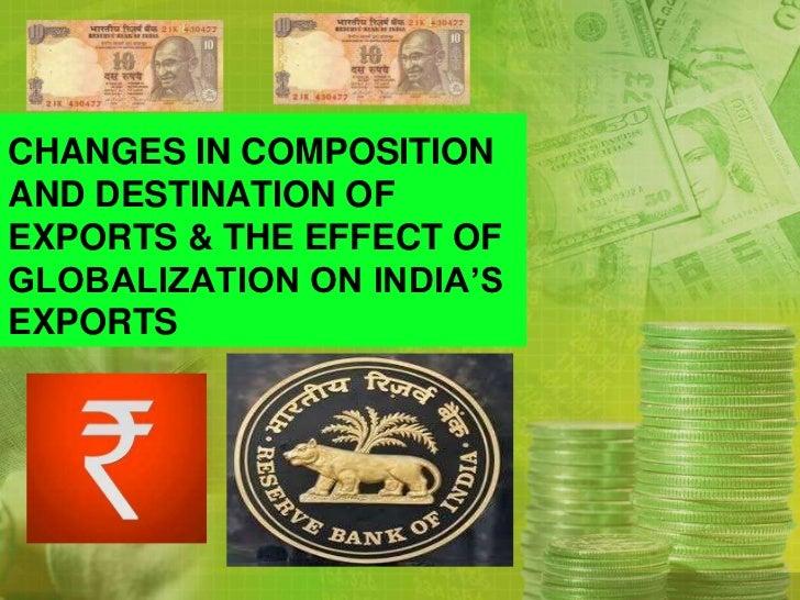 Economics  export of india trends since independance