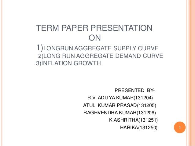 Economics term paper - Term Paper Writing Service