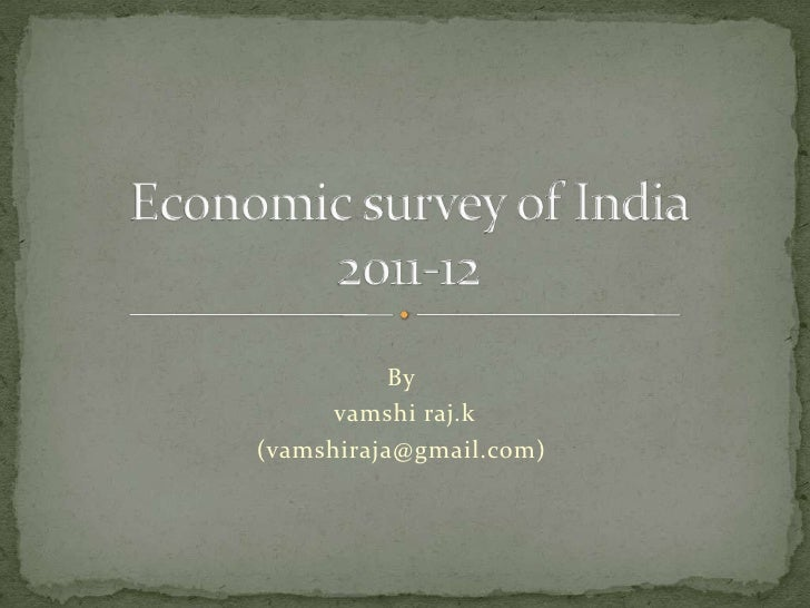 The Economic Survey 2017-18