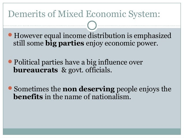 Are all economic systems equal? Why?