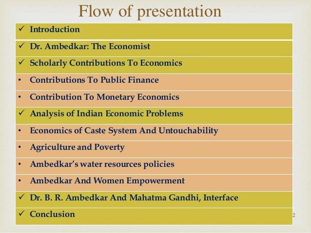 Dissertation economic thought