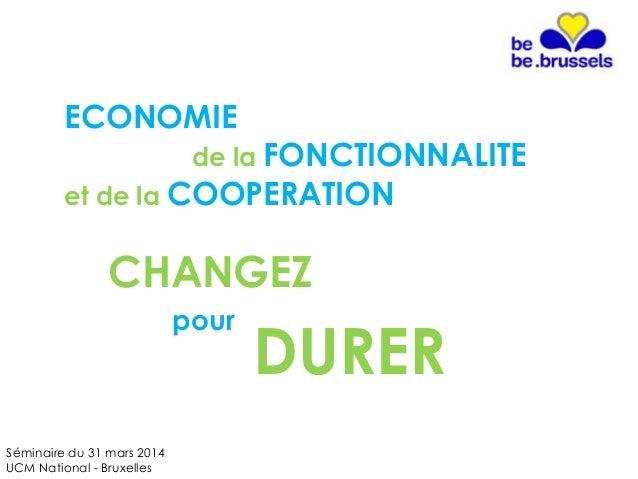 Economie de la fonctionnalité et de la coopération