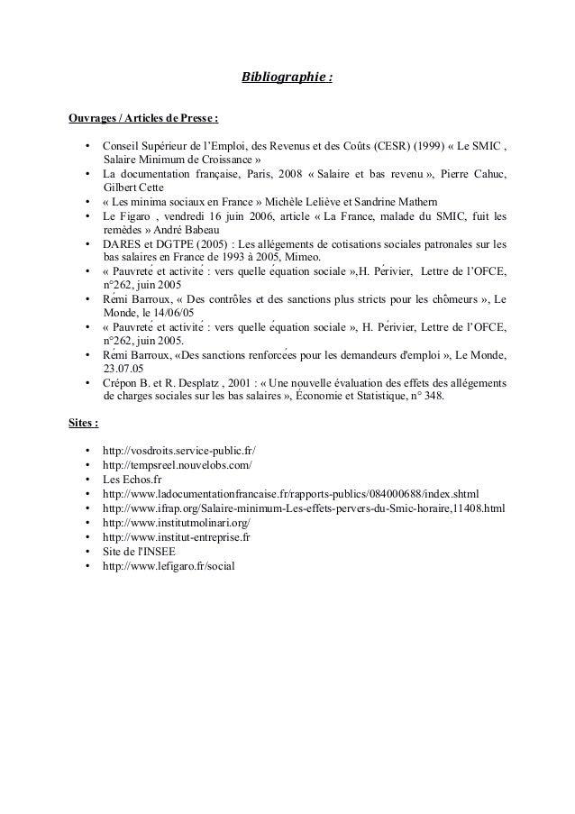 Dissertation conomie exemple