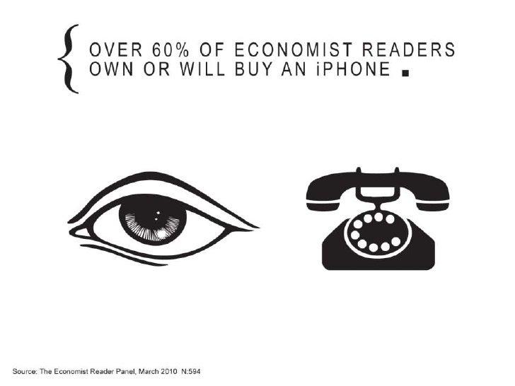 Economist ipad reader facts