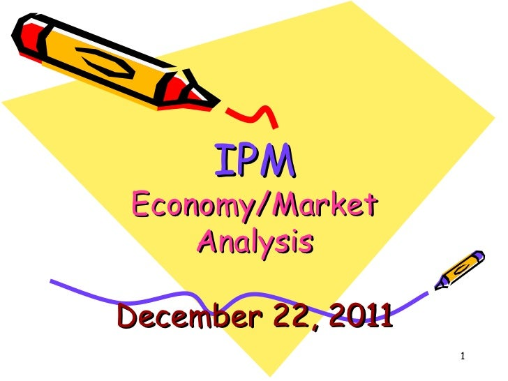 Economy & market analysis.