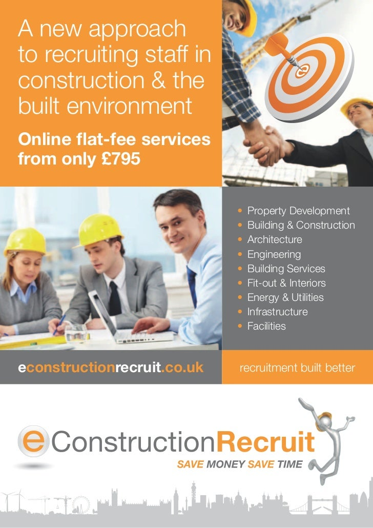 recruitment brochure template - e construction recruit brochure june 2011