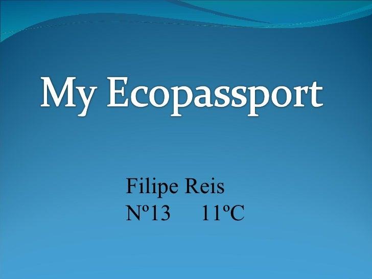 Filipe Reis Nº13 11ºC
