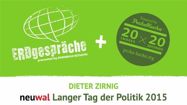 neuwal.com Politik- und Wahljournal Neue Formate, neue Ideen Making Journalism and Politics a better place