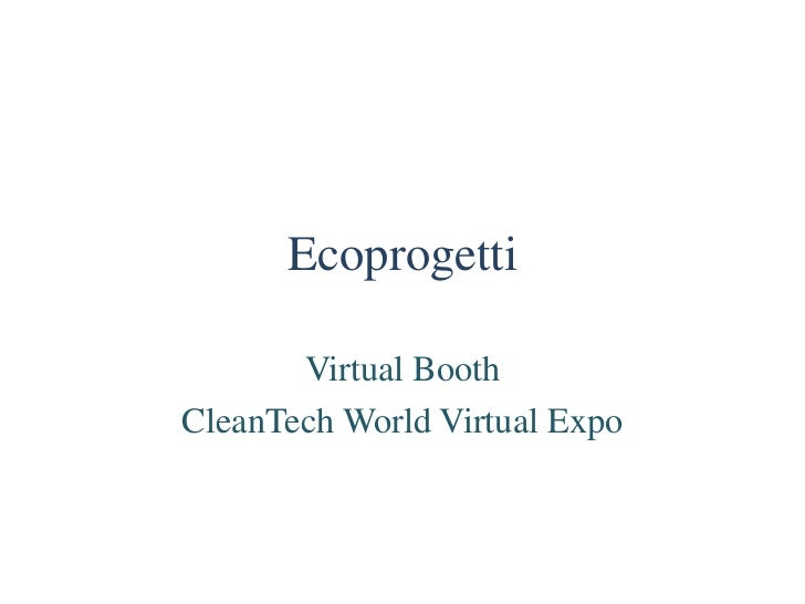 Ecoprogetti Specialist in photovoltaic production process equipment