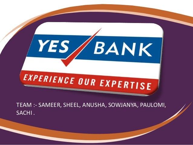 YES BANK ANALYSIS