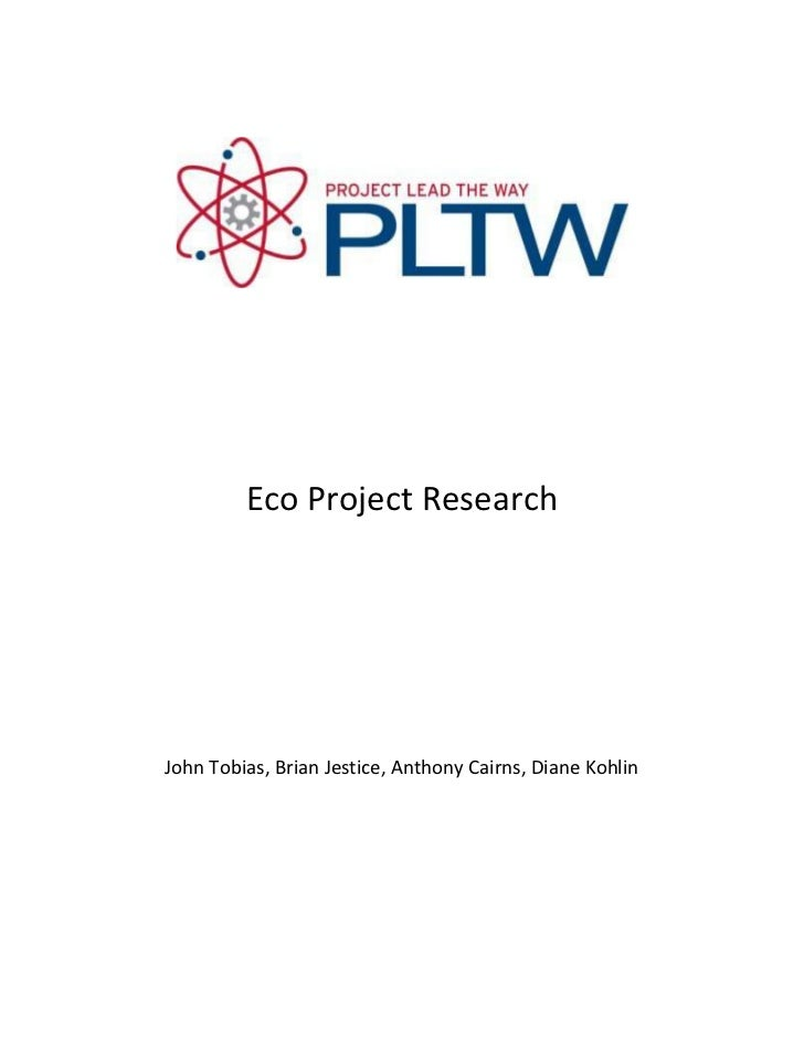 Eco project research