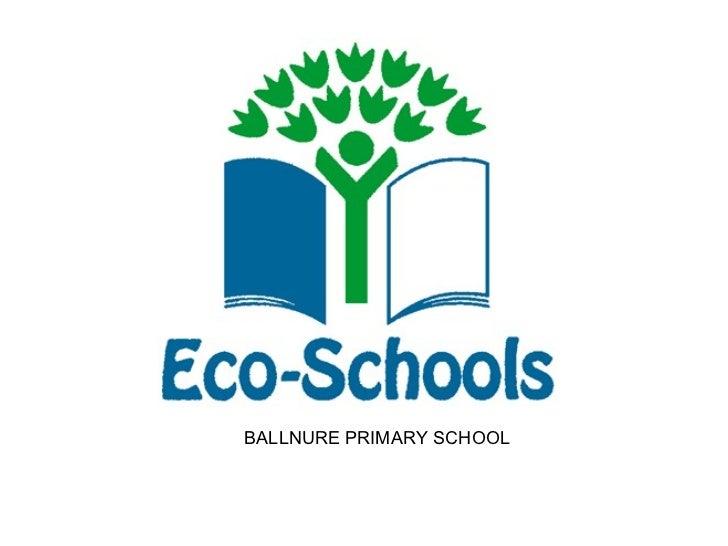 Eco school bubble action plan