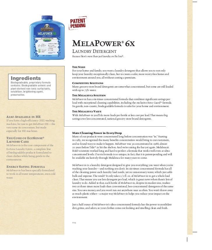 MelaPower® 6x                                               Laundry Detergent                                             ...