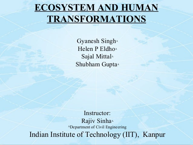 Ecosystem and human transformation