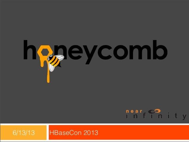 6/13/13 HBaseCon 2013