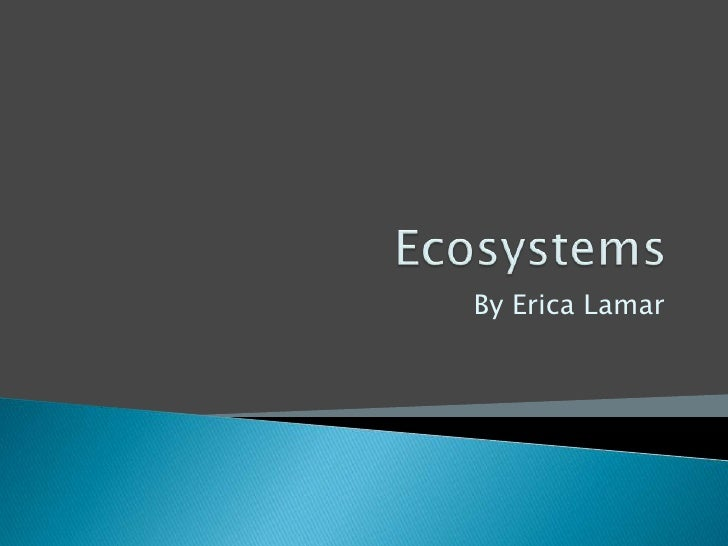 Ecosystem Powerpoint For Technology