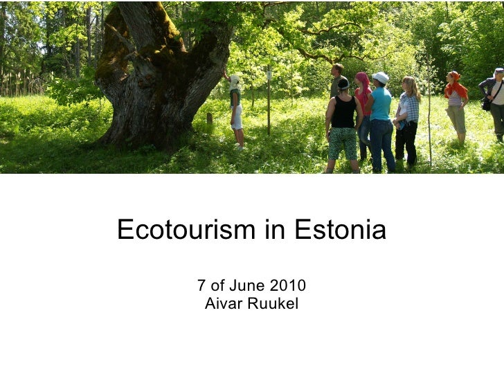 Ecotourism Estonia