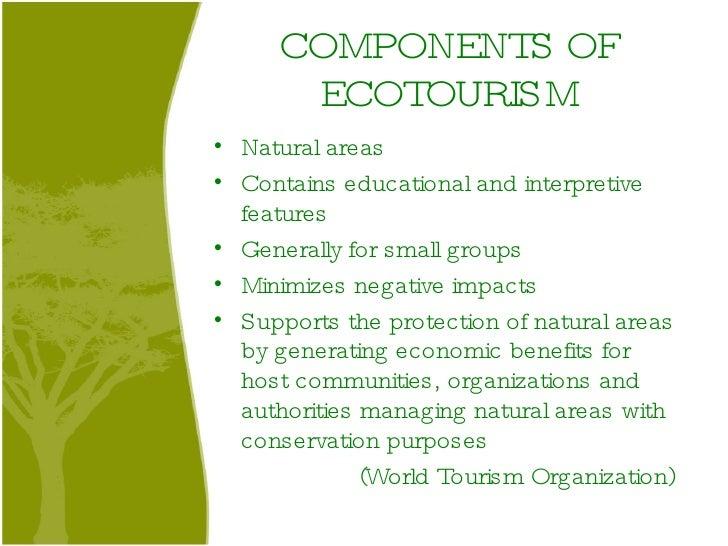 Ecotourism - PowerPoint PPT Presentation