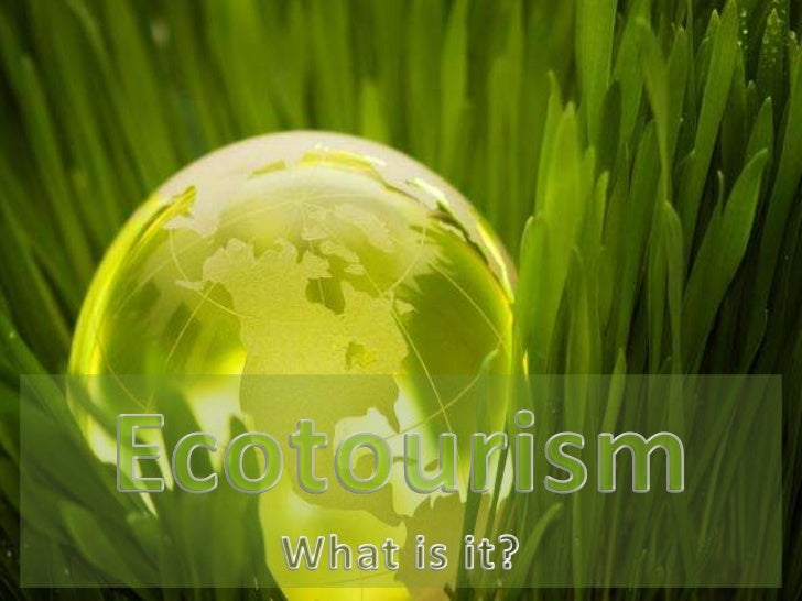 Ecotourism: What is it? - PowerPoint