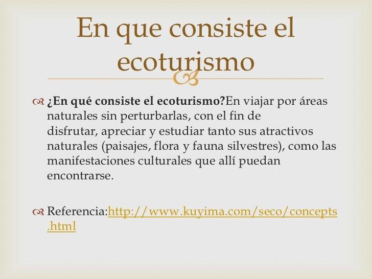 ecoturismo en colombia pdf