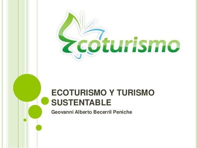 Ecoturismo global