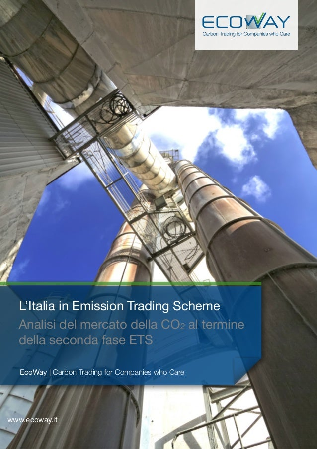 1 EcoWay | Carbon Trading for Companies who Care www.ecoway.it L'Italia in Emission Trading Scheme Analisi del mercato del...