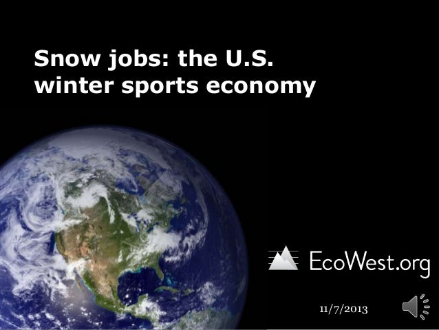 Snow jobs: America's $12 billion winter tourism economy