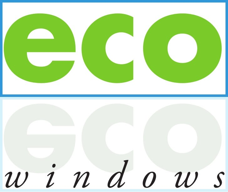 eco oce windows