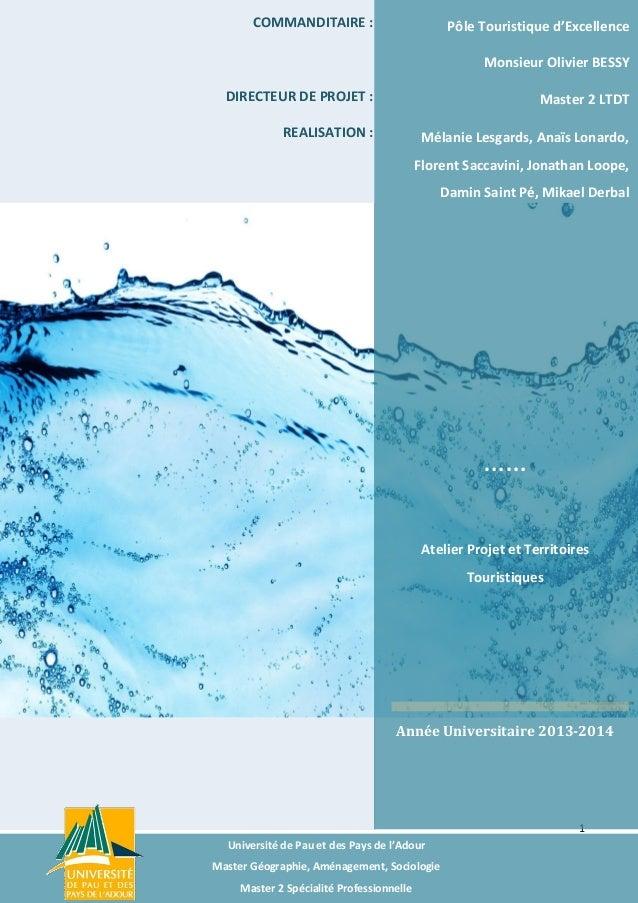 Diagnostic et stratégie territorial - Lourdes