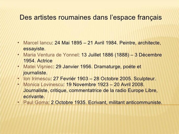Des artistes roumaines dans l'espace français• Marcel Iancu: 24 Mai 1895 – 21 Avril 1984. Peintre, architecte,  essayiste....